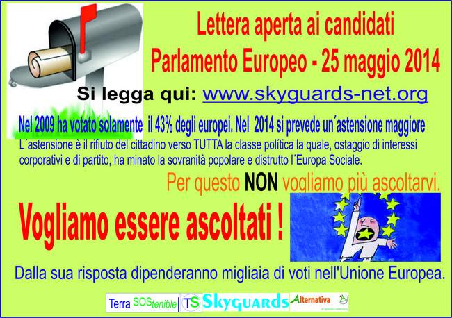 Cartolina Italiano Lettera Aperta